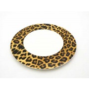 PLATO LLANO ROYAL PORCELAIN CHEETAH 22,5 CMS