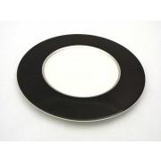 PLATO OFERTA ROYAL PORCELAIN NIMBUS BLACK 22,5 CMS LLANO