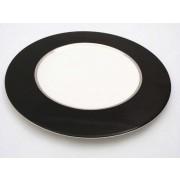 PLATO OFERTA ROYAL PORCELAIN NIMBUS BLACK 27,5 CMS LLANO