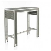 MESA BAR ALUMINIO BLANCO GREYLOOK