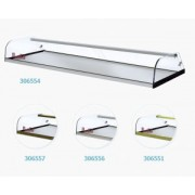 VITRINA NEUTRA MOVILFRIT 1000X380X170 VEN-1000 INOX